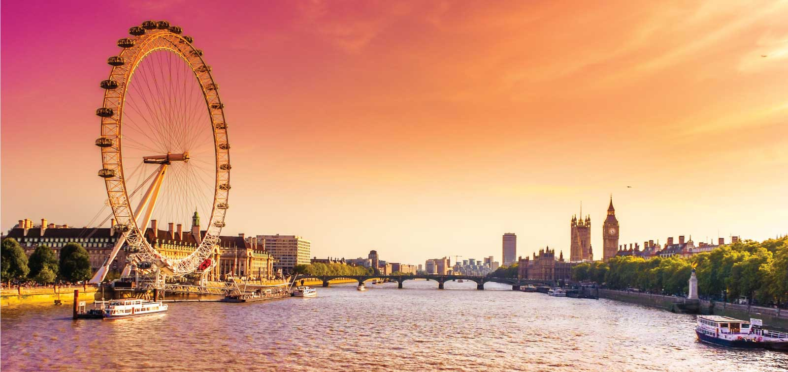 رحلات القاهرة لندن مع ترافكو هوليدايز